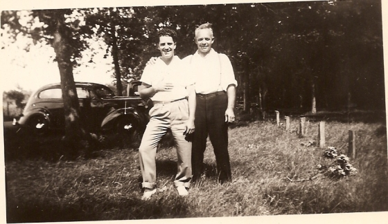 Herbert and his dad, Joesph