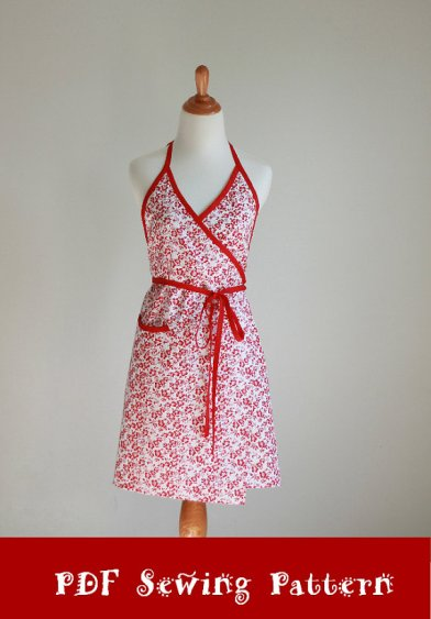 The Urban Wrap Sewing Pattern by Modern Vintage Designs