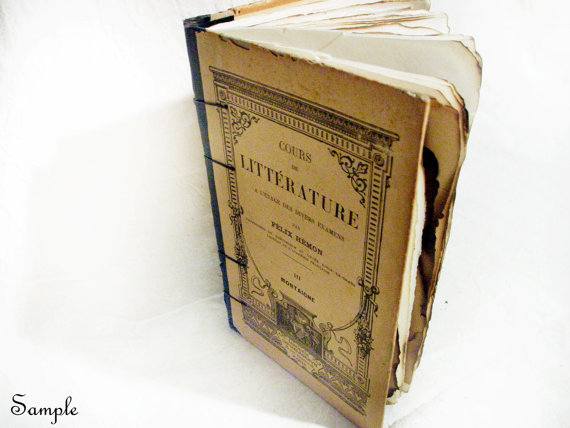 Rustic Vintage Mixed Paper Journal by Spellbinderie. This one is Ms. Jeannie's favorite!