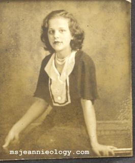 Grand Aunt Leona
