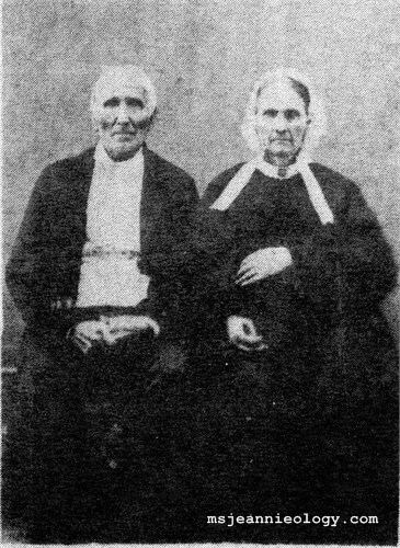 Fourth Great Grandparents Maria & Garret