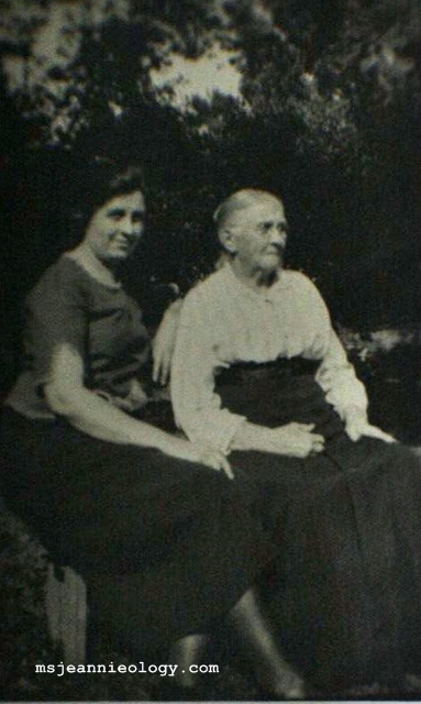 The first picture of great great grandmother Martha