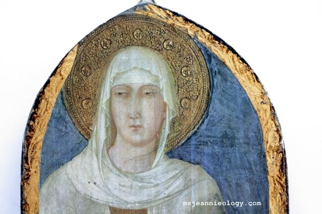 St. Clare by Simone Martini