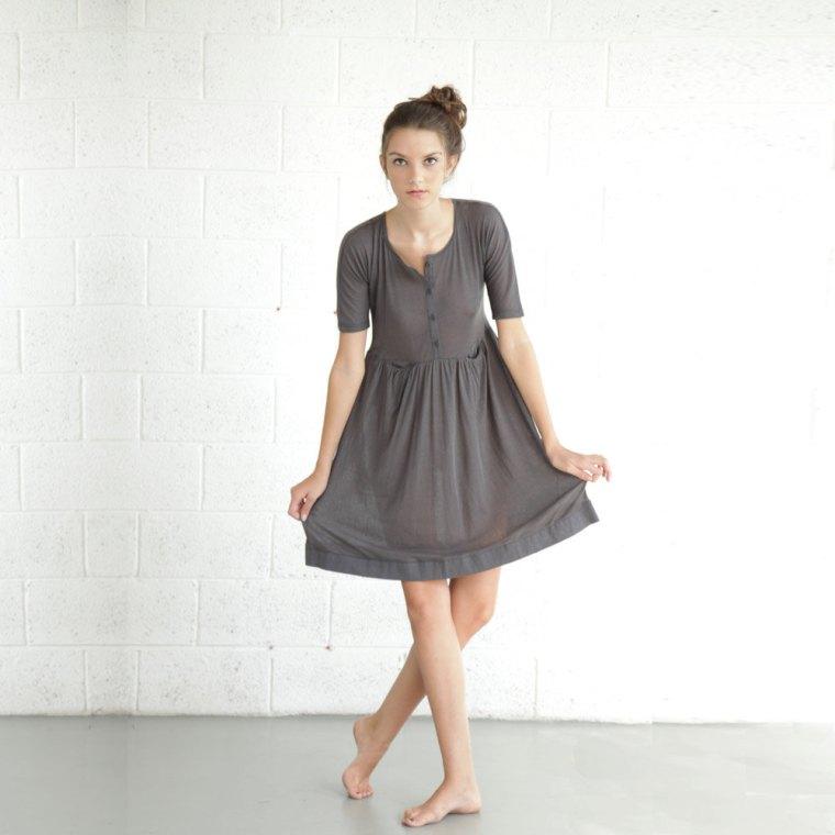 Gray Dress by natful