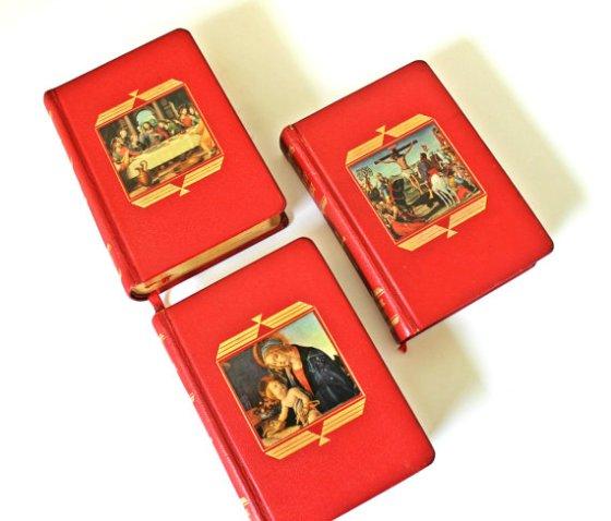 Vintage Set of Catholic Press Books from vintage archeology