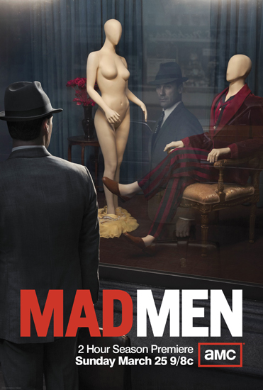 Mad Men Season 5 poster. Image courtesy of huffingtonpost.com