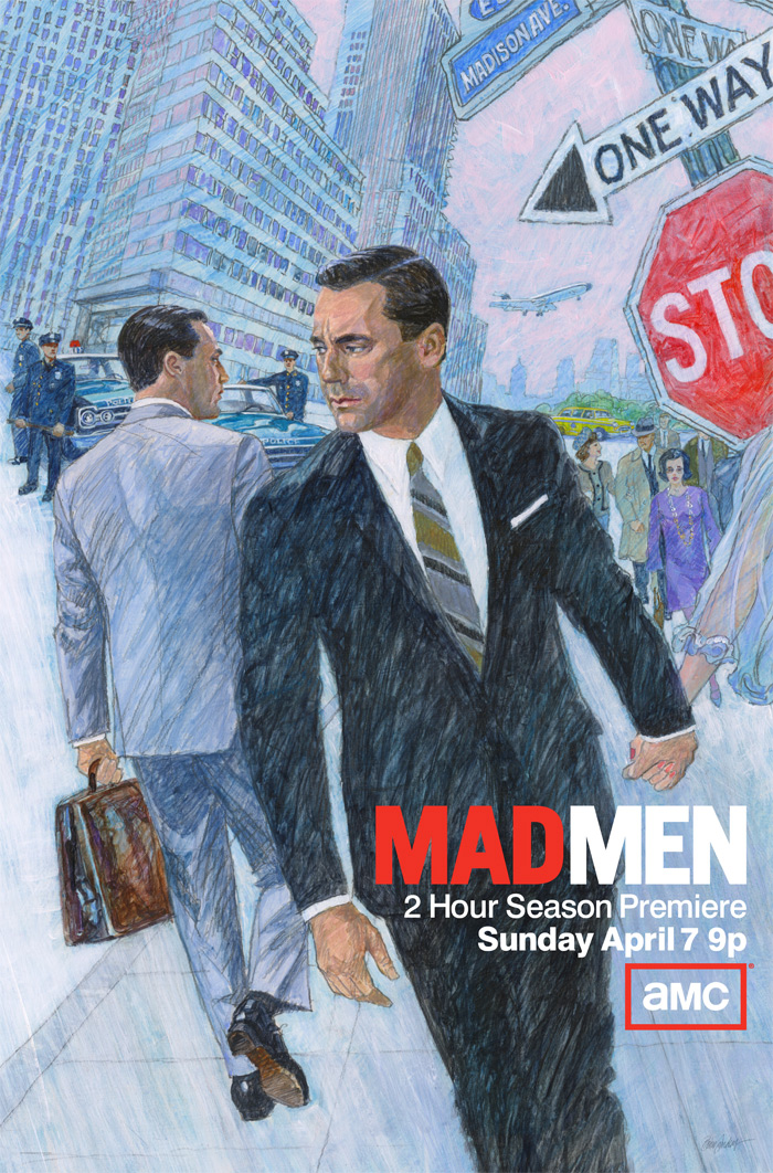 Mad Men Season 6 poster. Photo courtesy of collider.com