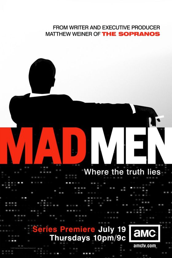 Mad Men Season 1 poster. Courtesy of screened.com