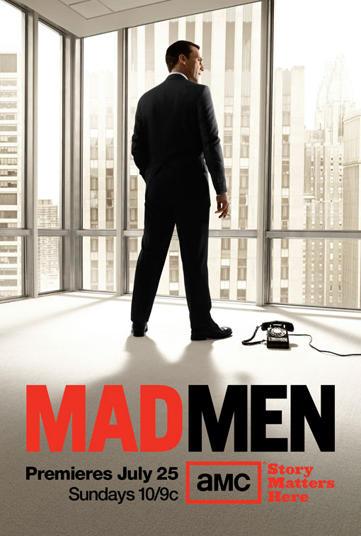 Mad Men Season 4 poster. Photo courtesy of collider.com