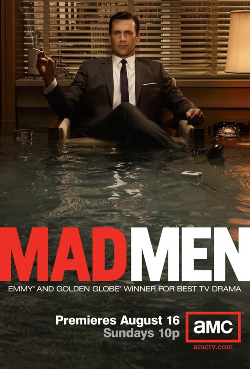 Mad Men Season 3 poster. Photo courtesy of collider.com