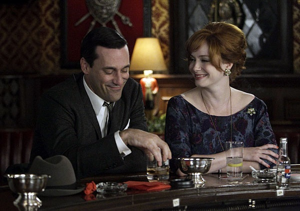 Final scene of Mad Men Season 5. Photo courtesy via pinterest.com