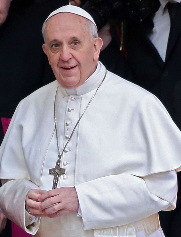 Pope Francis, aka Jorge Mario Bergoglio. Photo courtesy of crosscurrents.org