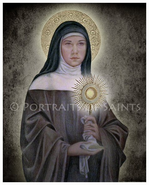 St. Clare Portrait by Portraits of Saints