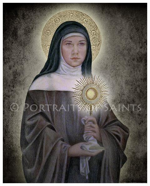 St. Clare Portrait by Portraits of Saints