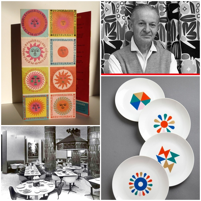 Alexander Girard (1907-1993) is an American born designer that studied in Italy.
