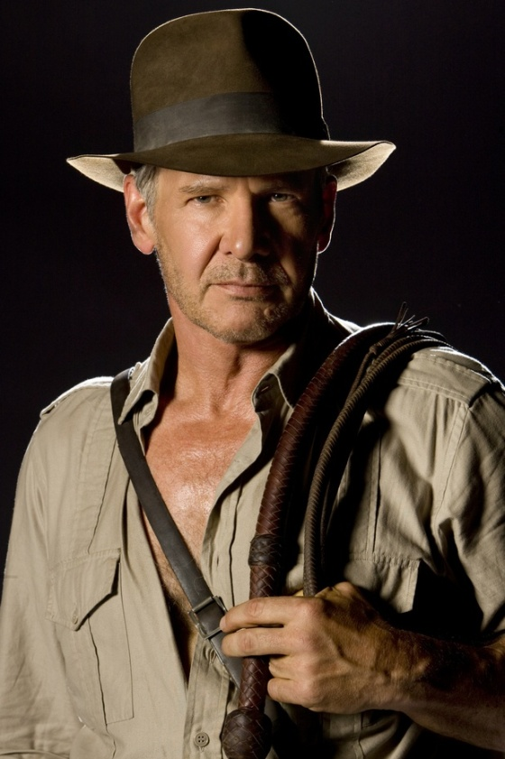 Harrison Ford as Indiana Jones. Photo via pinterest.