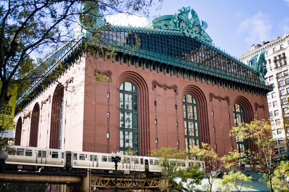Harold Washington Library Photograph by Carolyn Jane Photo. Click for more info.