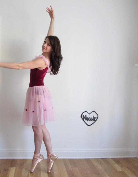 Vintage Ballerina Costume.