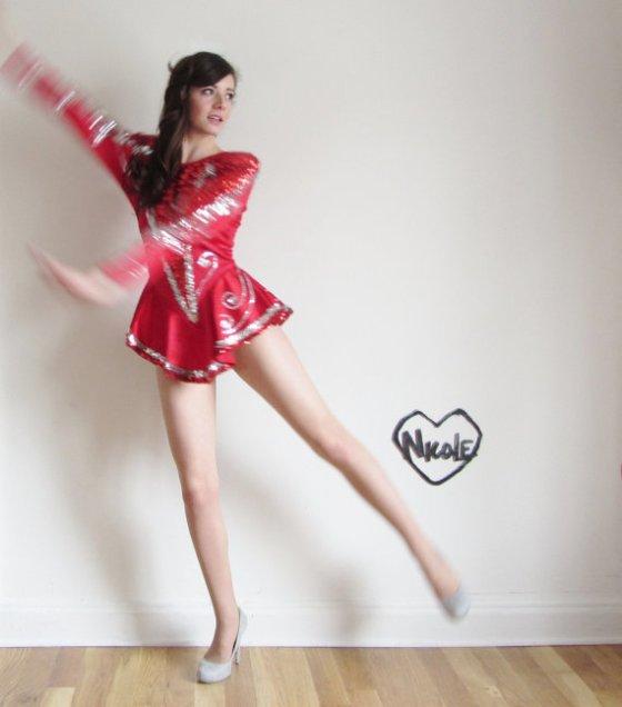 Vintage Figure Skating Dress