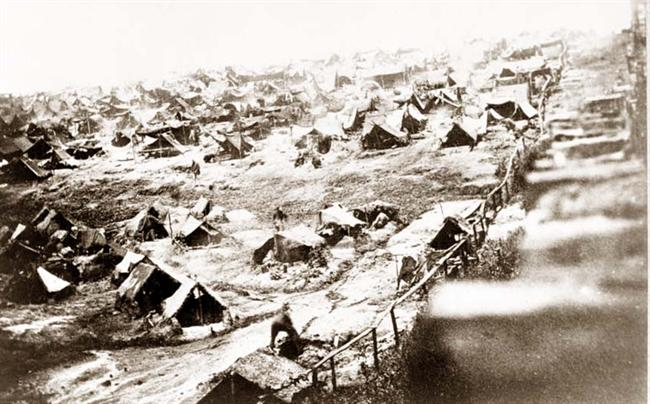 Andersonville Prison. Photo courtesy of old-picture.com