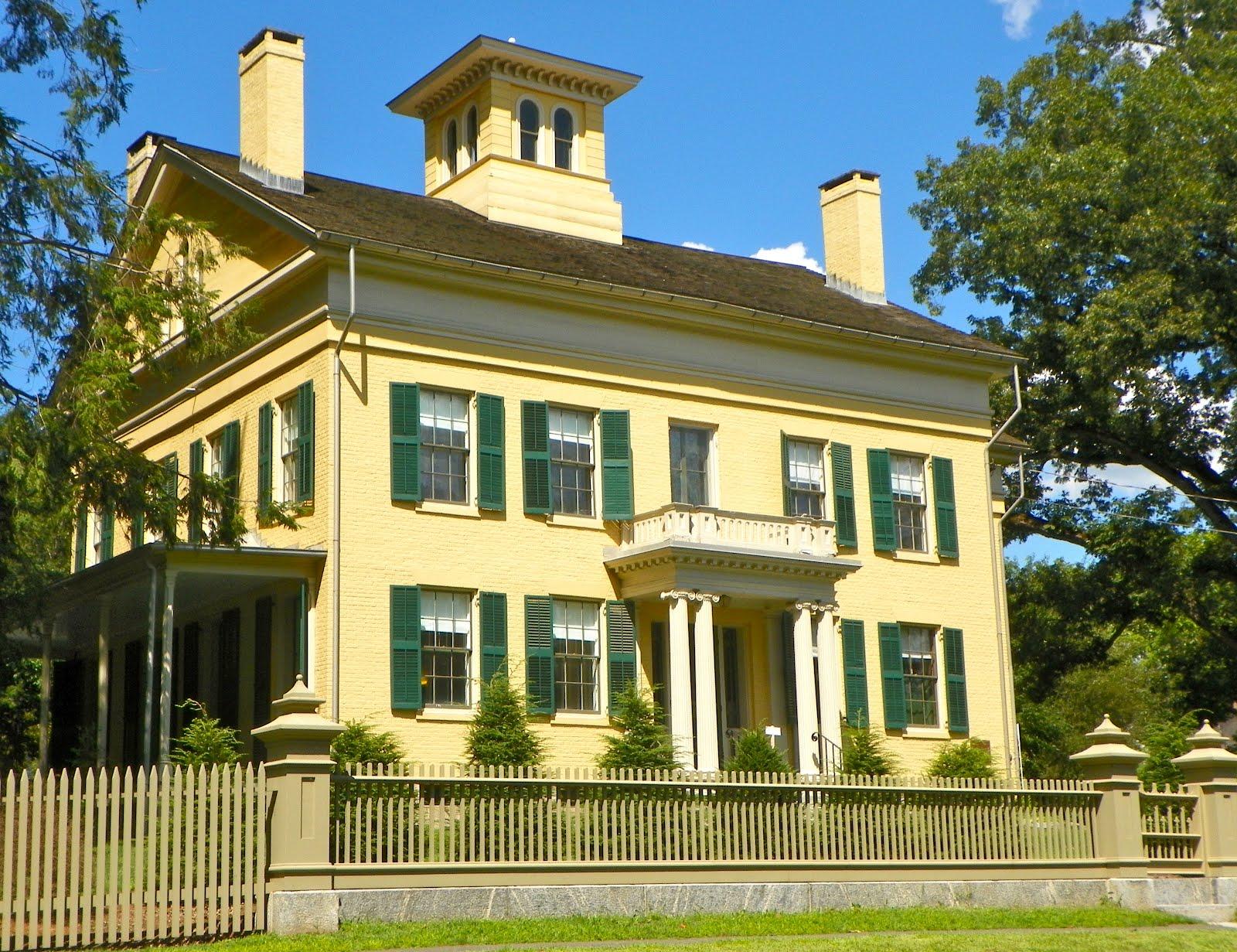 Emily Dickinson's Homestead in Amhearst, MA