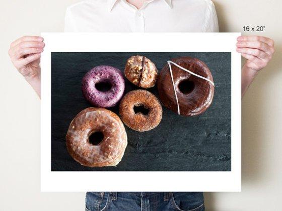 Doughnut Wall Art by DianaPappas