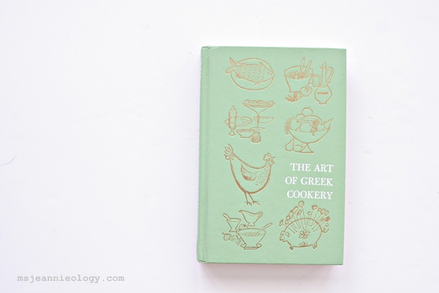 The Art of Greek Cookery circa 1963