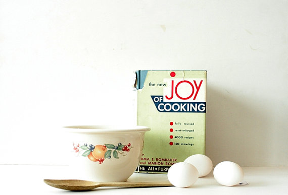 Vintage 1950's Cookbook - The Joy of Cooking