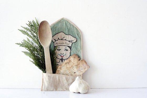 Vintage recipe holder