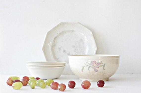 Vintage 1940's Mixing Bowl