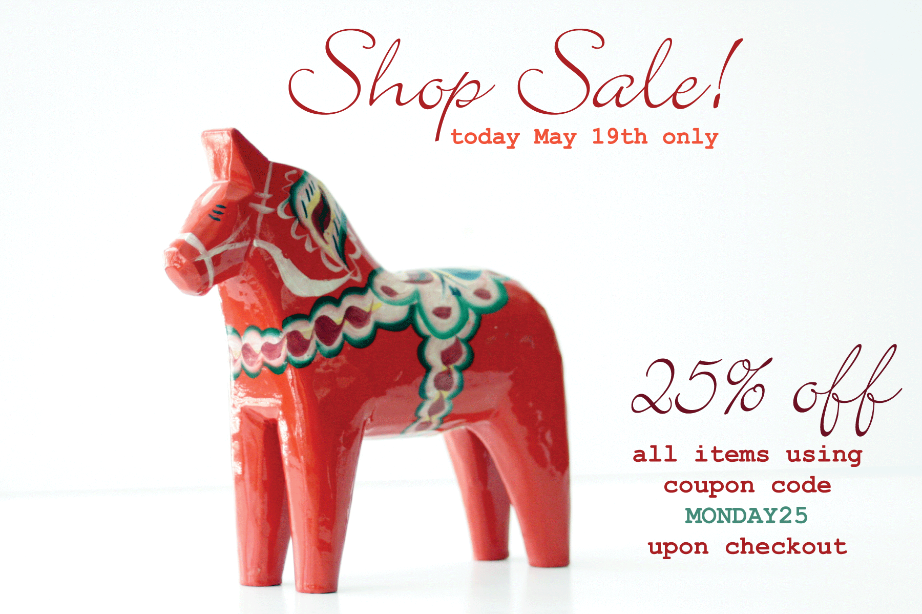 click the horse to start shopping!