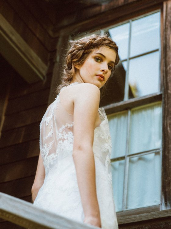 Lace Wedding Dress by elikadesigns -