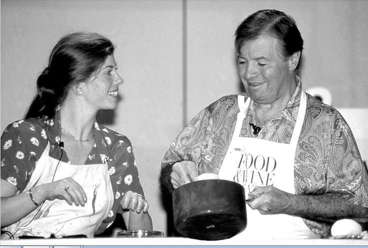 Claudine & Jacques in 1994.