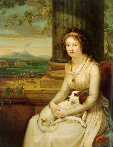 Lady Elizabeth Webster Holland is credited with introducing the dahlia to England in the  early 1800's thus securing its survival in eastern Europe