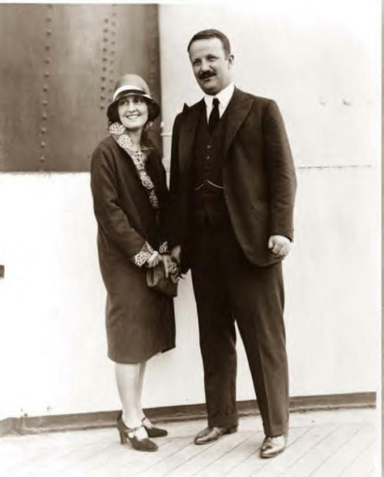 Belle Wyatt Willard and Kermit Roosevelt