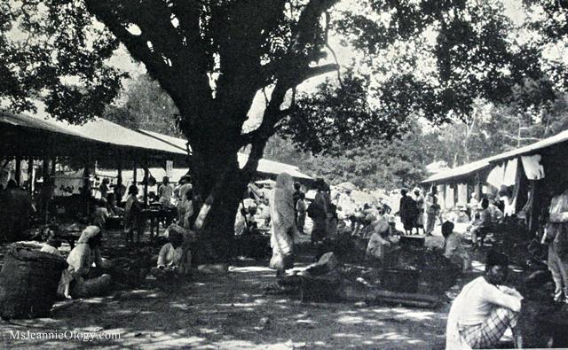 Paraguyan Market Posados, 1926