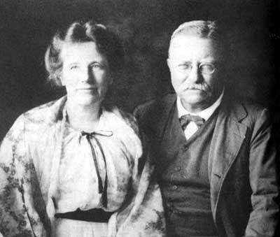 Theodore & Edith Roosevelt