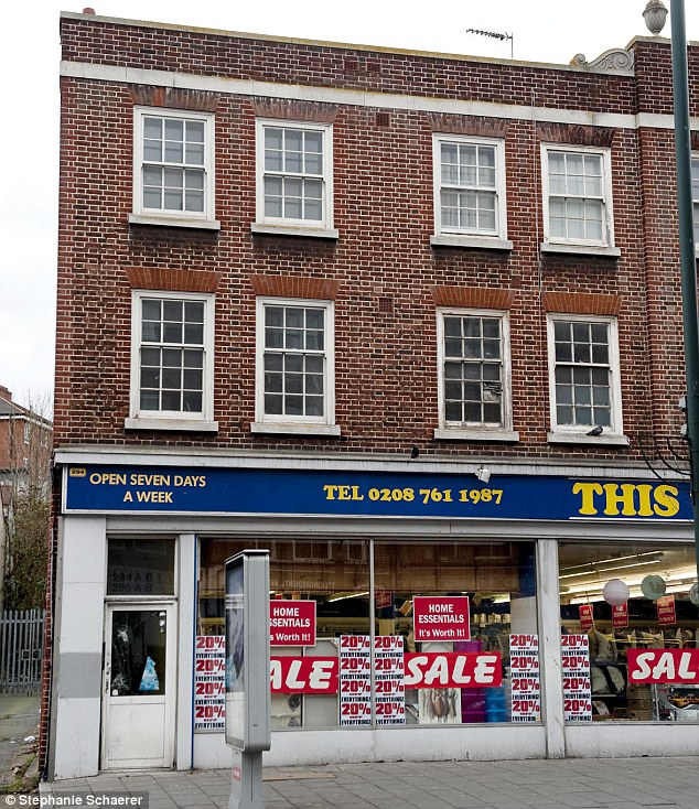 Adele's flat above the This, That and the Other Store in West Norwood where she filmed the at home video of Someone Like You