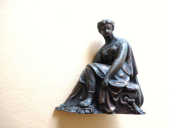 Antique Spelter Figurine from SquirrelMidden, $130.31