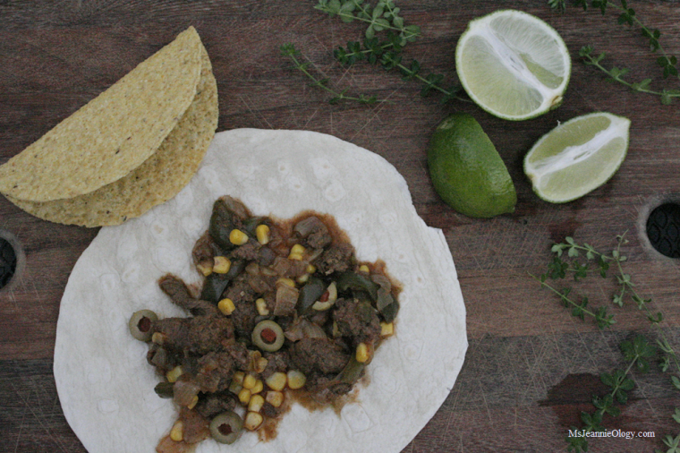 Mexican Beef with Olives