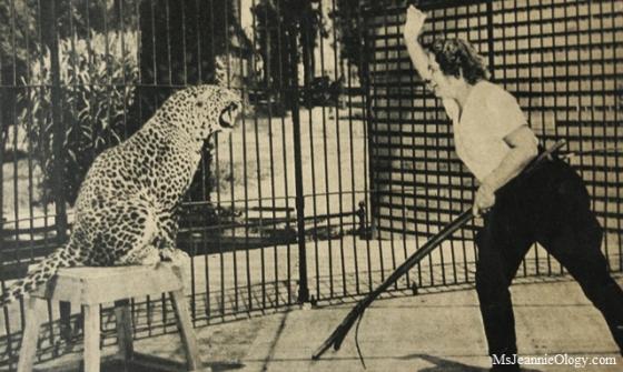 Olga at work. Photo curtesy of Click Magazine 1938