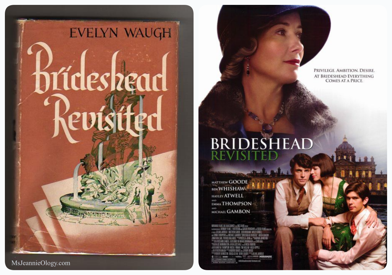Evelyn Waugh wowed the world with his literary wonder Brideshead Revisited in 1945. In 2008 Matthew Goode turned out a handsome performance in the beautifully captured film adaptation.