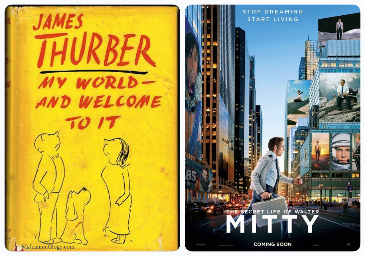 The Secret Life of Walter Mitty was a short story written by James Thurber in 1942 in this collection of his work. The movie starring Ben Stiller was released in 2013.