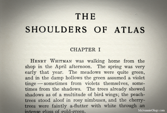 The Shoulders of Atlas - Mary E. Wilkins Freeman, 1908
