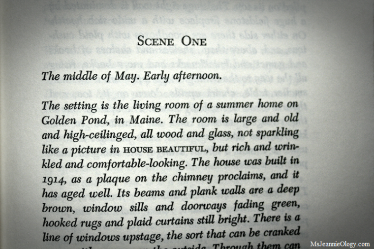 On Golden Pond - Ernest Thompson , 1979