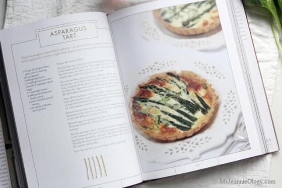 Asparagus Tart - Downton Abbey style!