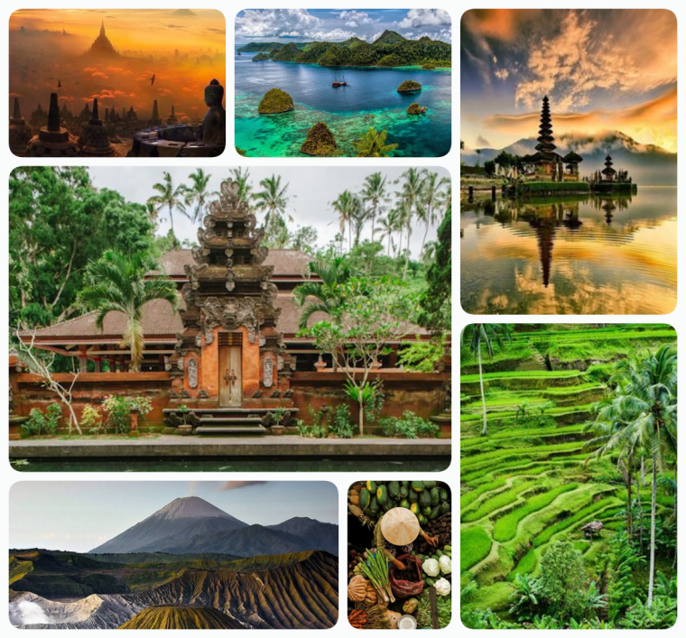 indonesia_collage