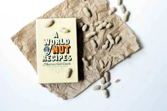 A World of Nuts Cookbook by Morton Gill Clark