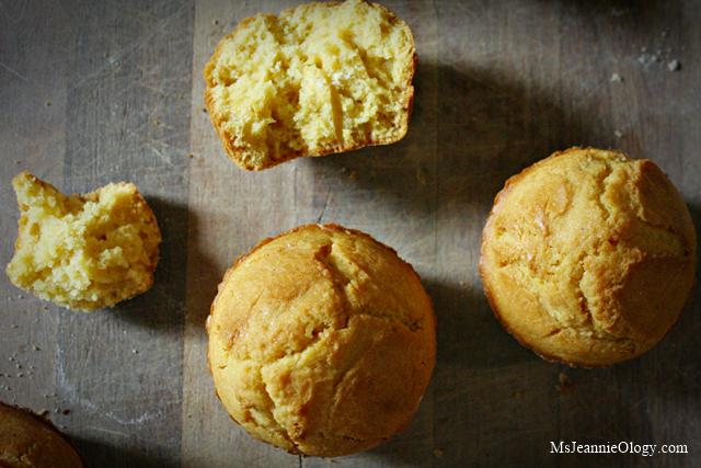 Vermont Johnnycake Muffins