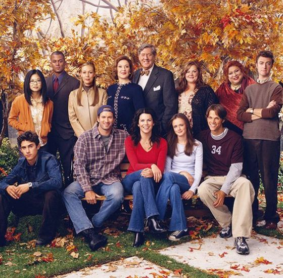 The complete cast of Gilmore Girls